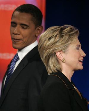 Obama Clinton